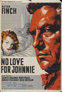 No Love for Johnnie - 27 x 40 Movie Poster - UK Style A