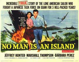 No Man Is an Island - 11 x 14 Movie Poster - Style A