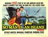 No Man Is an Island - 22 x 28 Movie Poster - Half Sheet Style A
