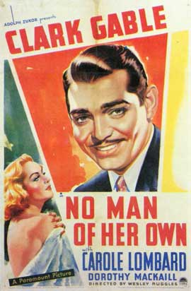 No Man of Her Own - 11 x 17 Movie Poster - Style C