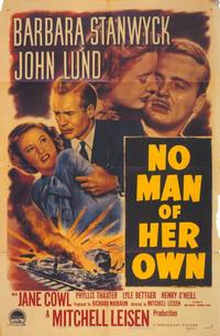 No Man of Her Own - 11 x 17 Movie Poster - Style A