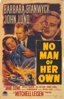 No Man of Her Own - 27 x 40 Movie Poster - Style A