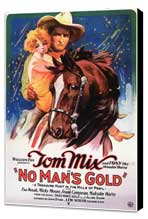No Man's Gold - 27 x 40 Movie Poster - Style A - Museum Wrapped Canvas