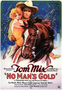 No Man's Gold - 43 x 62 Movie Poster - Bus Shelter Style A