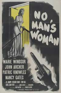 No Man's Woman - 27 x 40 Movie Poster - Style A
