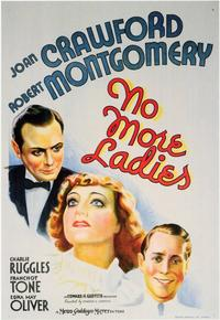 No More Ladies - 11 x 17 Movie Poster - Style A