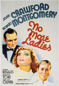 No More Ladies - 43 x 62 Movie Poster - Bus Shelter Style A