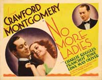 No More Ladies - 30 x 40 Movie Poster - Style A