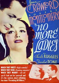 No More Ladies - 11 x 17 Movie Poster - Style C
