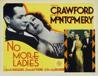 No More Ladies - 22 x 28 Movie Poster - Style A