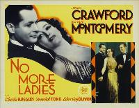No More Ladies - 11 x 17 Movie Poster - Style D