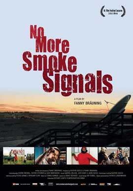 No More Smoke Signals - 11 x 17 Movie Poster - Swiss Style A