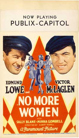 No More Women - 11 x 17 Movie Poster - Style A