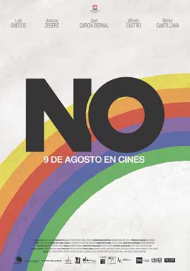 No - 27 x 40 Movie Poster - Chile Style A