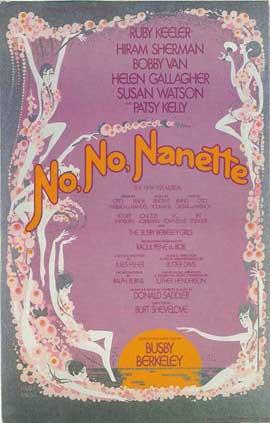 No, No, Nanette (Broadway) - 14 x 22 Poster - Style A