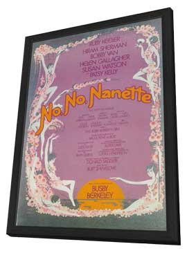 No, No, Nanette (Broadway) - 11 x 17 Poster - Style A - in Deluxe Wood Frame