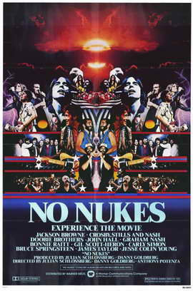 No Nukes - 11 x 17 Movie Poster - Style A
