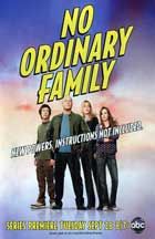 No Ordinary Family - 11 x 17 TV Poster - Style A