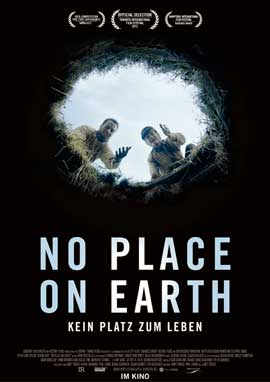 No Place on Earth - 11 x 17 Movie Poster - German Style A