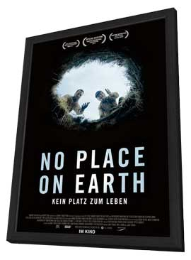 No Place on Earth - 11 x 17 Movie Poster - German Style A - in Deluxe Wood Frame