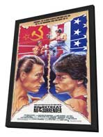 No Retreat, No Surrender - 27 x 40 Movie Poster - Style A - in Deluxe Wood Frame