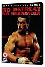 No Retreat, No Surrender - 27 x 40 Movie Poster - UK Style A - Museum Wrapped Canvas