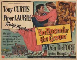 No Room for the Groom - 11 x 14 Movie Poster - Style A