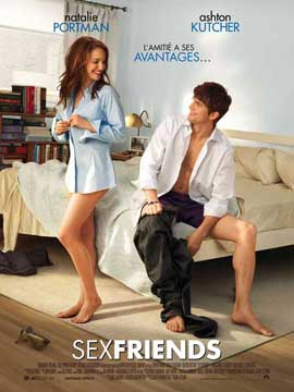 No Strings Attached - 11 x 17 Movie Poster - French Style A