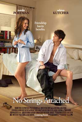 No Strings Attached - 11 x 17 Movie Poster - Style A - Double Sided