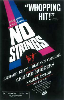 No Strings (Broadway) - 14 x 22 Poster - Style A