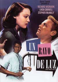 No Way Out - 11 x 17 Movie Poster - Spanish Style A