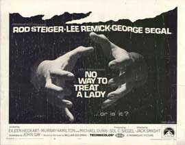 No Way to Treat a Lady - 11 x 14 Movie Poster - Style A