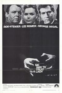 No Way to Treat a Lady - 11 x 17 Movie Poster - Style A