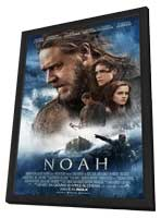 Noah - 11 x 17 Movie Poster - Italian Style A - in Deluxe Wood Frame