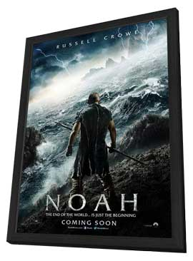 Noah - 11 x 17 Movie Poster - Style A - in Deluxe Wood Frame