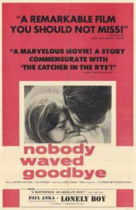 Nobody Waved Goodbye - 11 x 17 Movie Poster - Style A