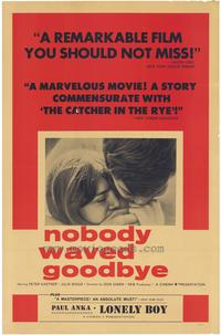 Nobody Waved Goodbye - 27 x 40 Movie Poster - Style A