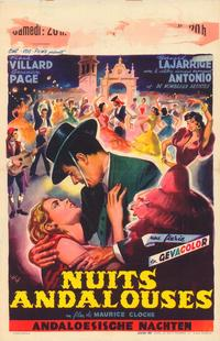 Noches andaluzas - 27 x 40 Movie Poster - Belgian Style A