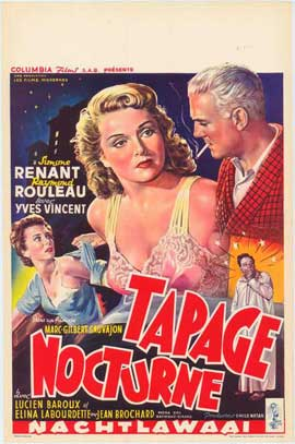 Nocturnal Uproar - 11 x 17 Movie Poster - Belgian Style A