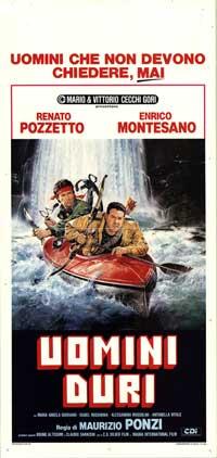Noi uomini duri - 13 x 28 Movie Poster - Italian Style A