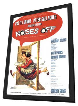 Noises Off (Broadway) - 11 x 17 Poster - Style A - in Deluxe Wood Frame