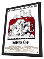 Noises Off - 11 x 17 Movie Poster - Style B - in Deluxe Wood Frame