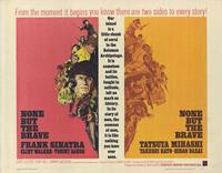 None But the Brave - 22 x 28 Movie Poster - Half Sheet Style A