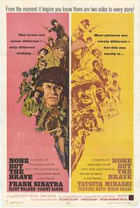 None But the Brave - 27 x 40 Movie Poster - Style A
