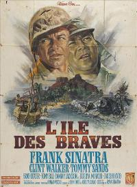 None But the Brave - 27 x 40 Movie Poster - French Style A