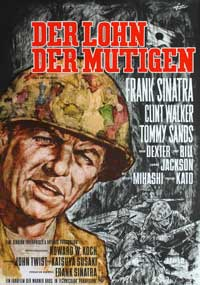 None But the Brave - 27 x 40 Movie Poster - German Style A