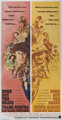 None But the Brave - 20 x 40 Movie Poster - Style A