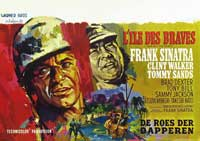 None But the Brave - 27 x 40 Movie Poster - Belgian Style A