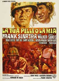 None But the Brave - 27 x 40 Movie Poster - Italian Style A