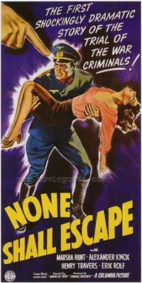 None Shall Escape - 43 x 62 Movie Poster - Bus Shelter Style A